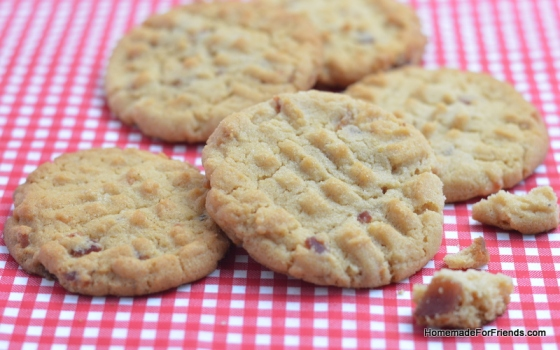 A Peanut Butter Bacon Cookie would make a great wing-man at a party.