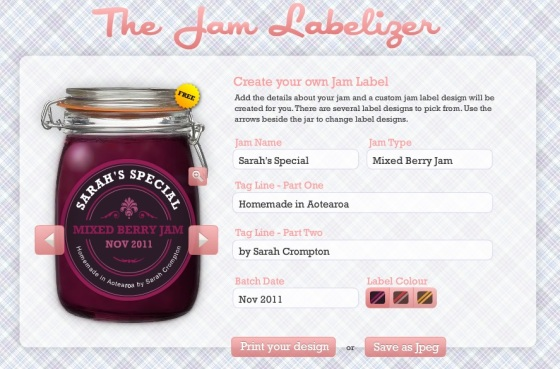 Are you looking for a great way to create professional labels for free? Then check out JamLabelizer.com!