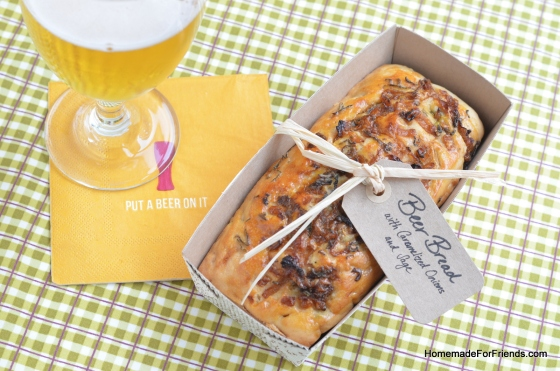 Beer Bread: For anyone who holds a special place in their heart for beer.