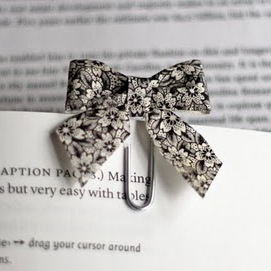 Paperclip Bow Ties by Jessica Jones at How About Orange.