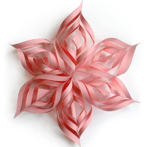 Paper Snowflake  by Jessica Jones at How About Orange.