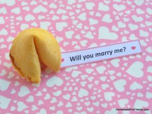 Aww!!! Of course the answer would be YES to a fortune cookie marriage proposal!