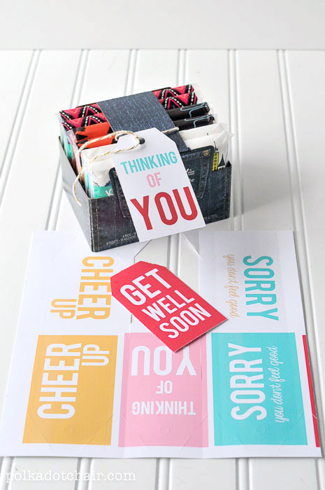 Source: http://www.polkadotchair.com/2013/11/get-well-soon-care-package-idea.html/