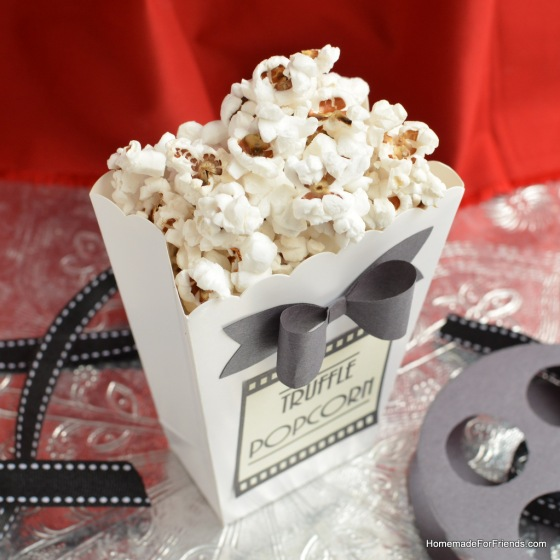 From a red carpet evening at the Oscars to a low-key movie night at home, this recipe for Truffle Popcorn is sure to spoil and impress your friends.