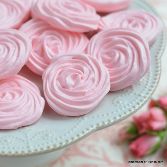 A raspberry rose meringue by any other name would taste just as sweet!