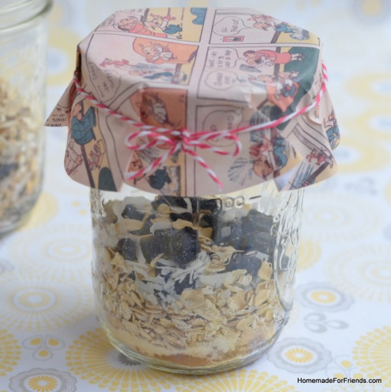 Homemade Oatmeal in a Jar