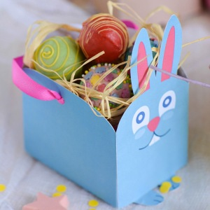 Ten great ideas for easter gift packaging homemade for friends bunny box by miniyve negle Images