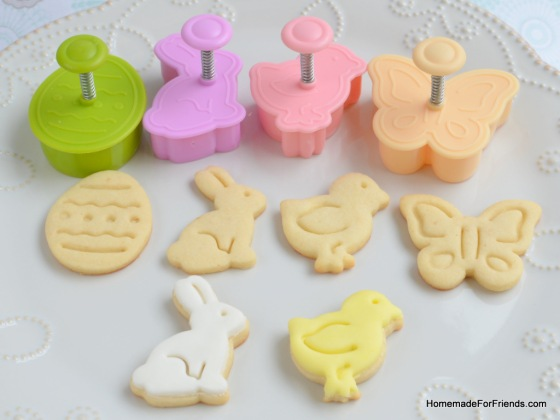 This Fondant Plunger Cutter set by the N.Y. Cake Company makes great cookies!