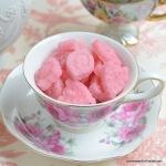 Homemade Rose Petal Sugar Cubes