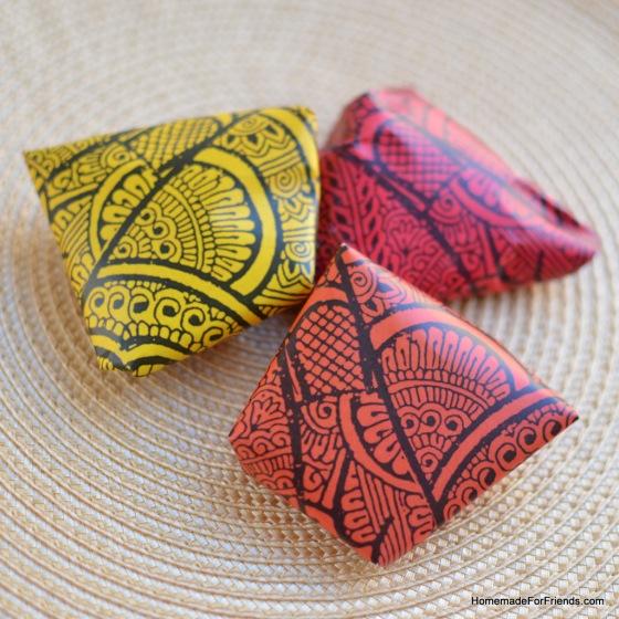 Authentic Vegetarian Samosas showcasing beautiful wrappers by Mustaali Raj.