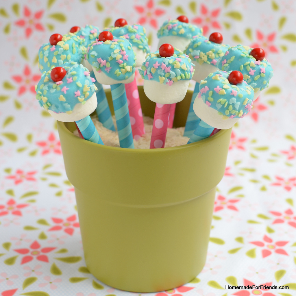 Marshmallow Pops | Homemade For Friends