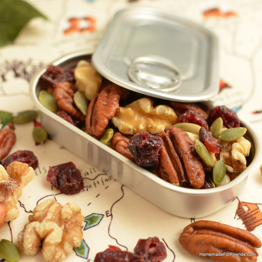 ... Trail Mix: A healthy recipe full of Omega-3's for people on the go