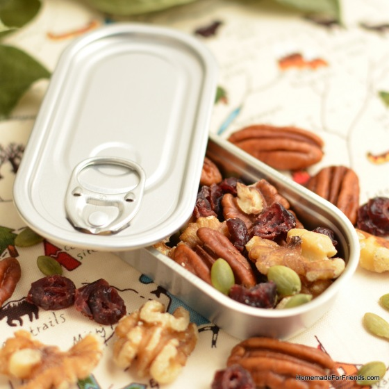 This container designed to look like an achovy tin is perfect for this treat!