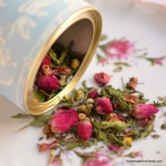 Floral Herbal Tea: A perfect homemade gift and recipe for everything from Mother's Day to Wedding Favors!